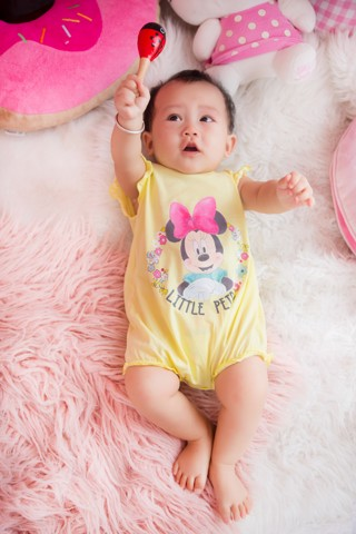 Body suit Mickey bé gái Rabity 5003