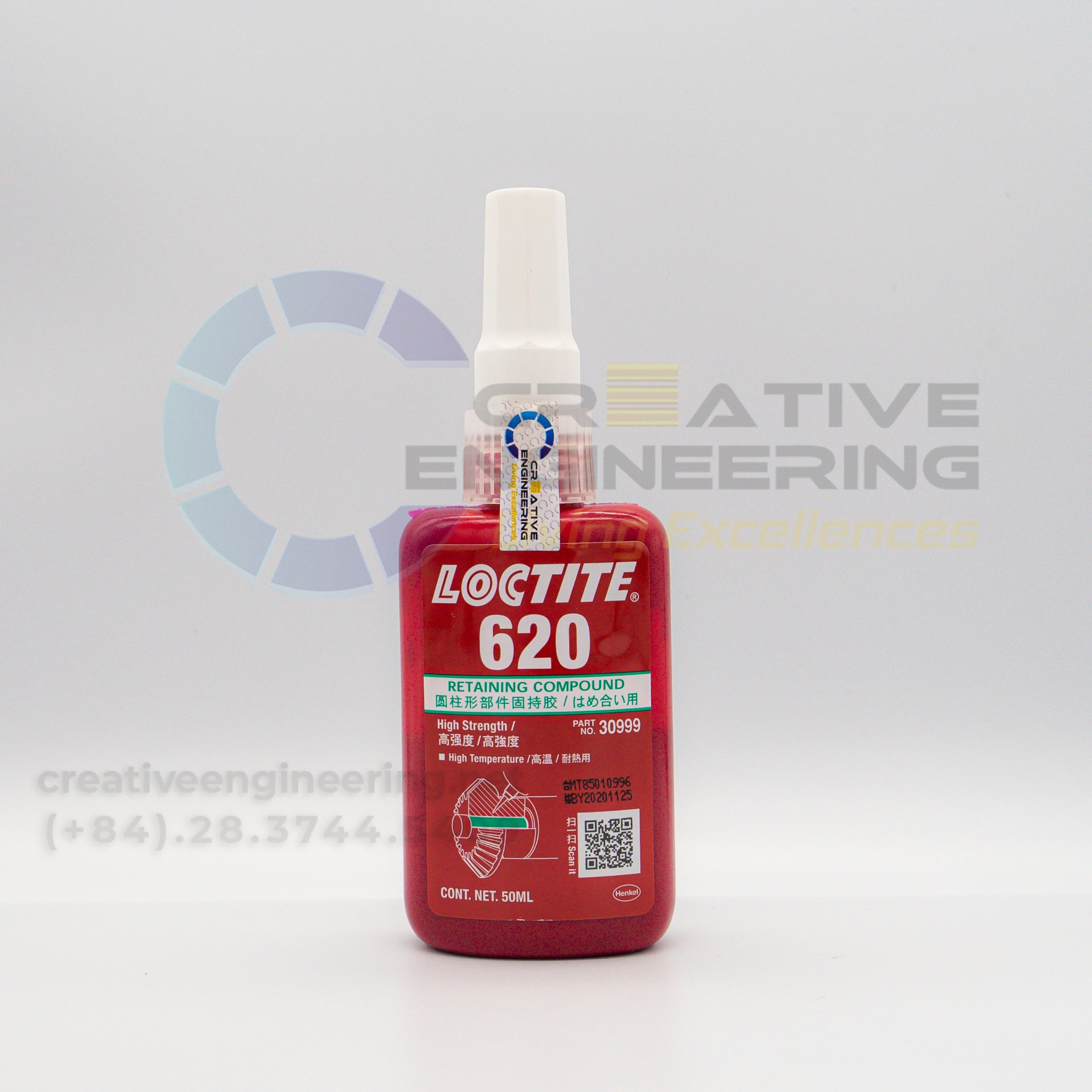 Loctite 620 – Keo chống xoay