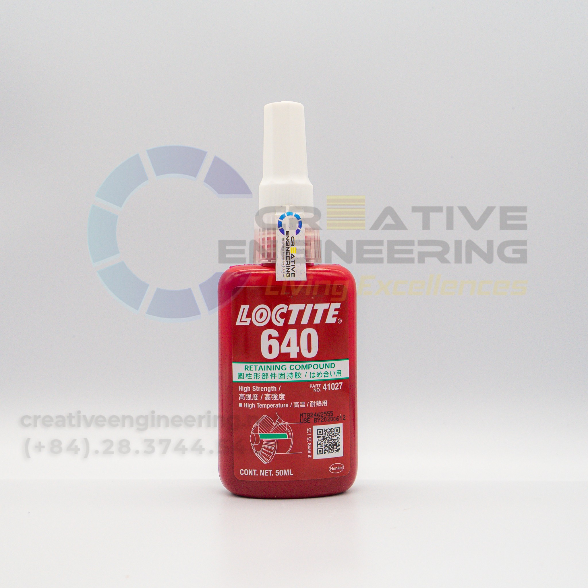 Loctite 640 – 20g - Hợp chất chống xoay