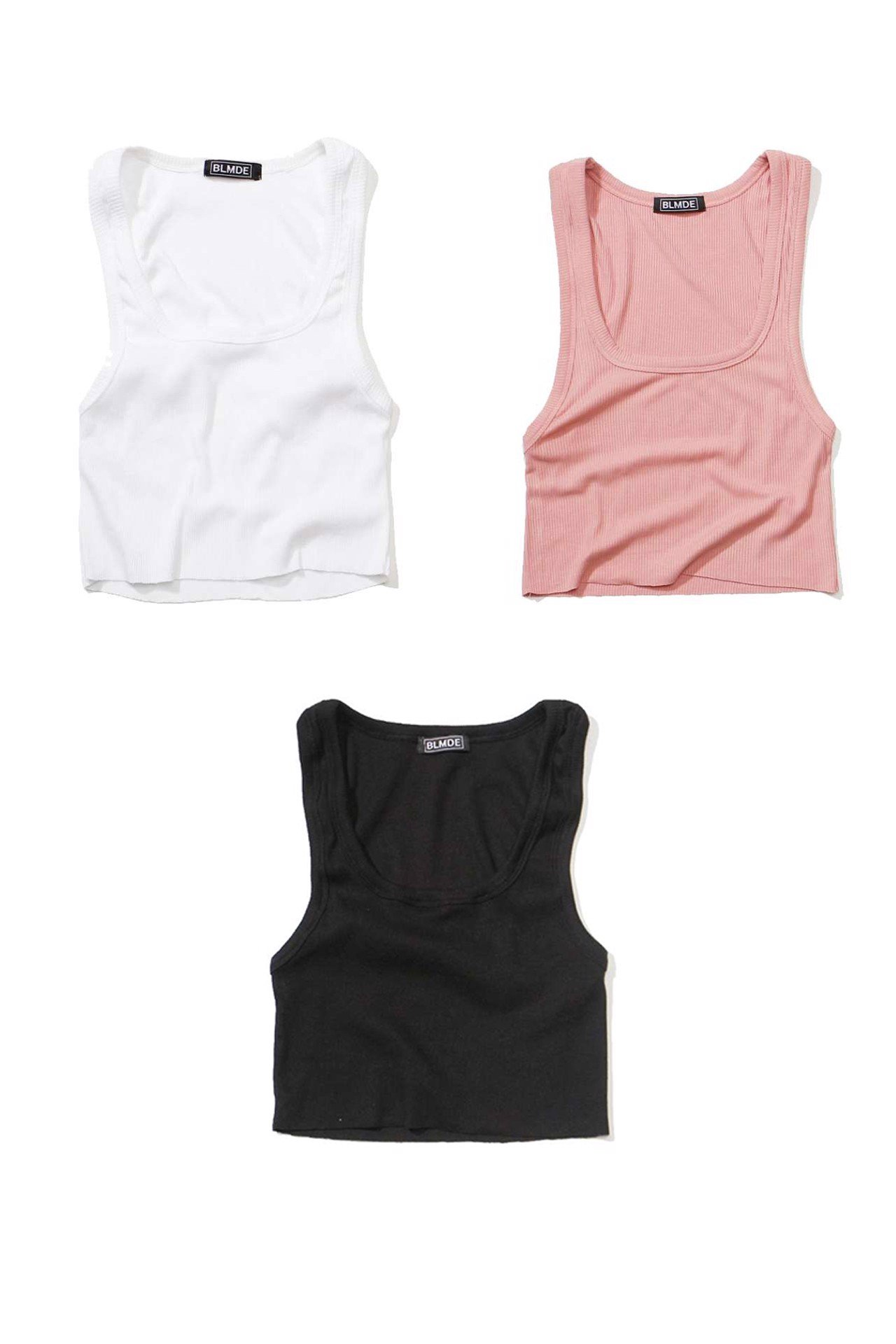 Basic Crop Tanktop