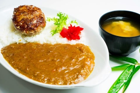 ハンバーグカレー/ Hamburg Curry Rice | Cơm Hamburger Cà Ri Bò