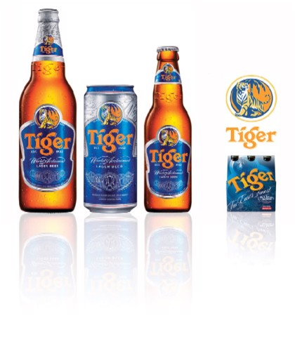 TIGER / Bia Tiger tươi (330ml)