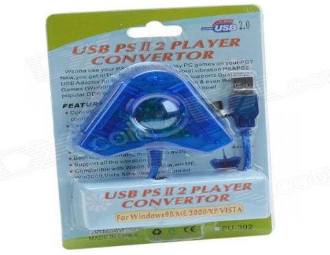 USB PSII 2 Player Converter