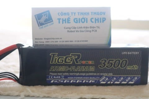 PIN LIPO TIGER 3S 3500mAh 30C