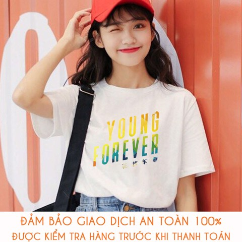 Áo thun nữ BTS Army Young Forever - M157
