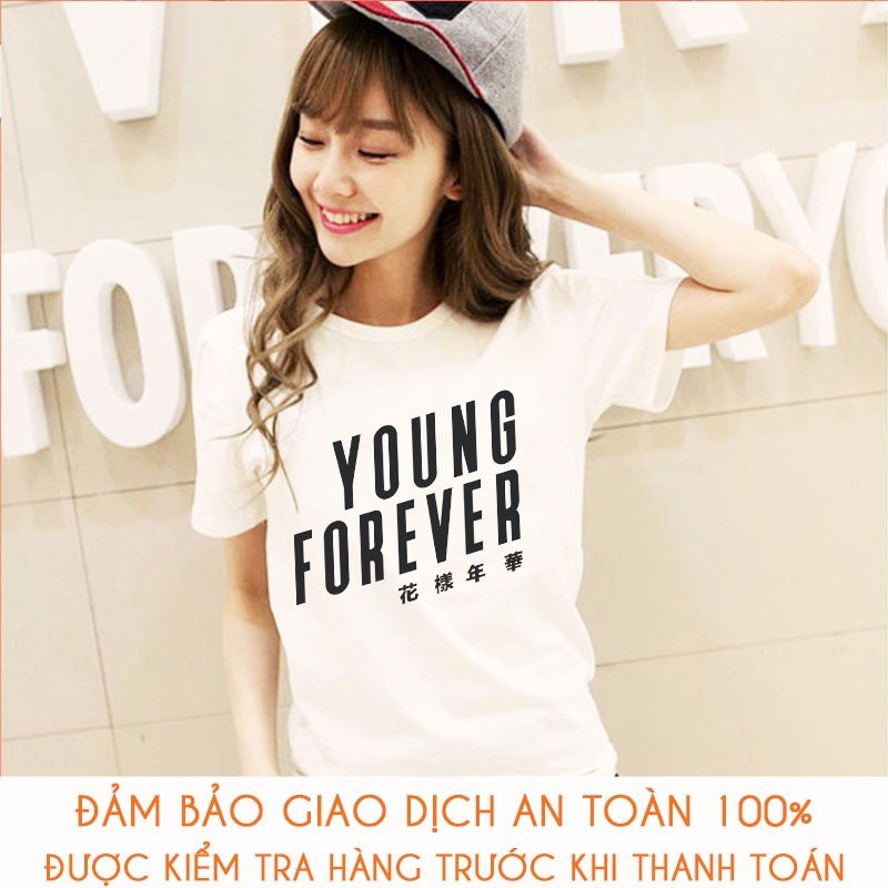 Áo thun nữ BTS Army Young Forever - M160