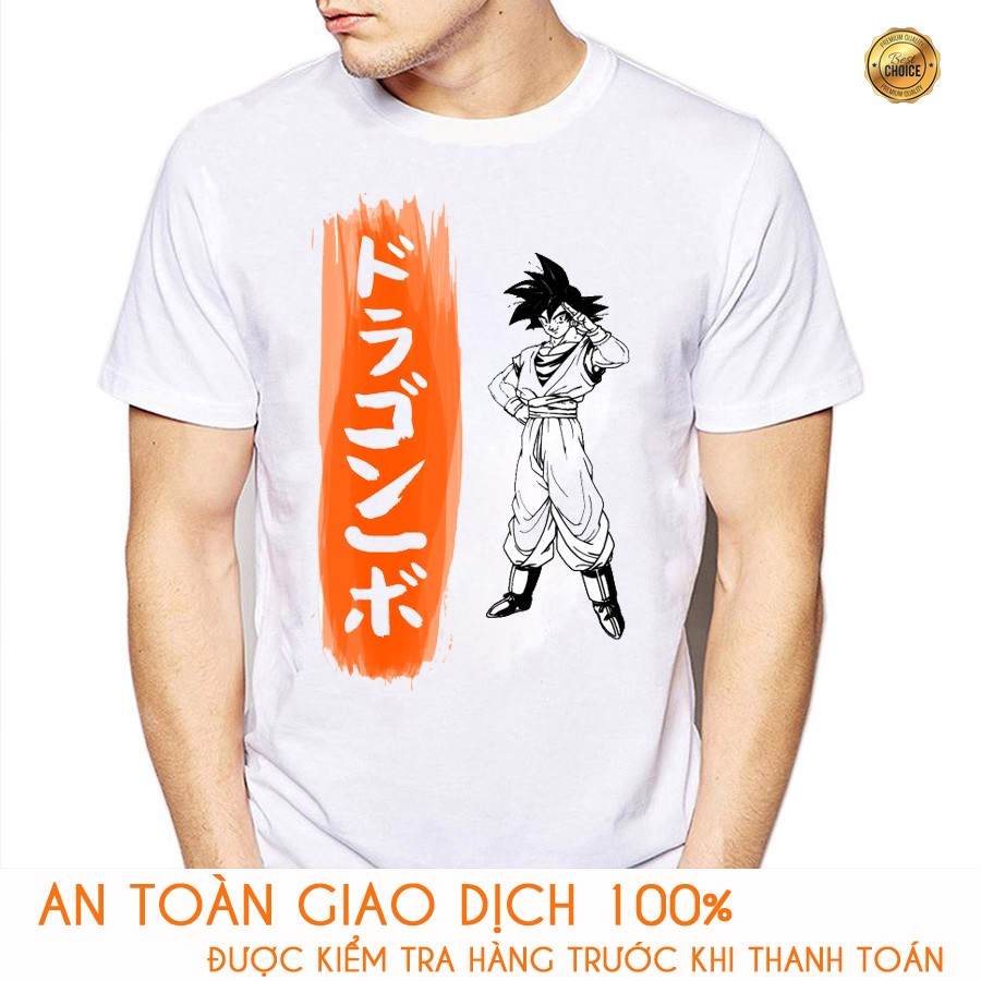 Áo thun Nam Dragon Ball Goku - M178