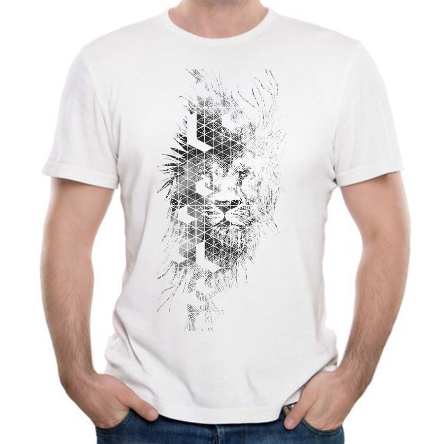 Áo Thun Nam Lion Design (Custom T-Shirt) M61