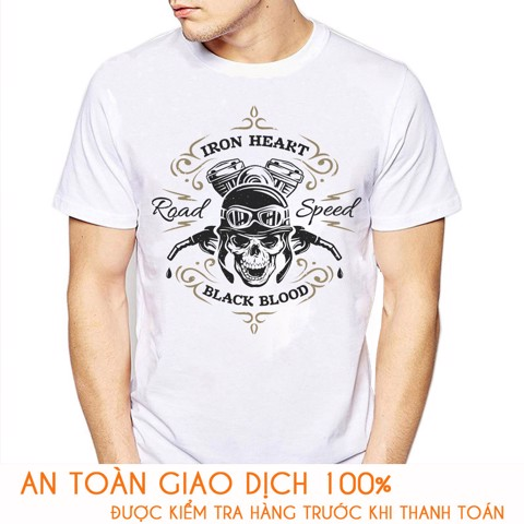 Áo thun nam RACING TEAM IRON HEART - M781
