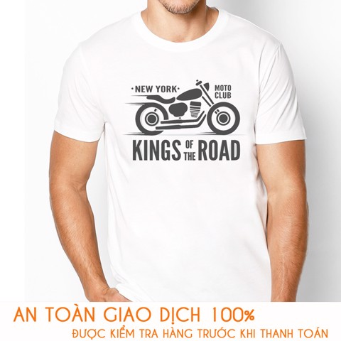 Áo thun nam RACING TEAM KINGS ROAD - M785