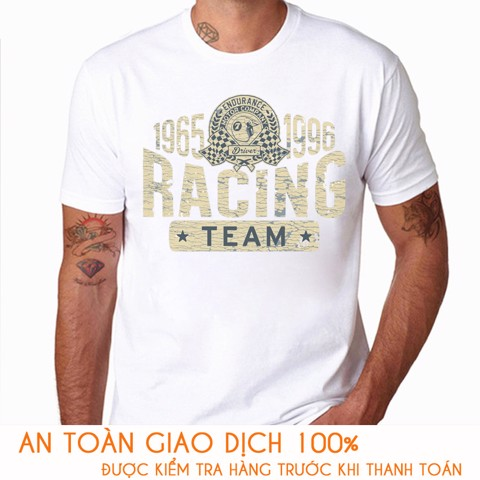 Áo thun nam RACING TEAM - M786