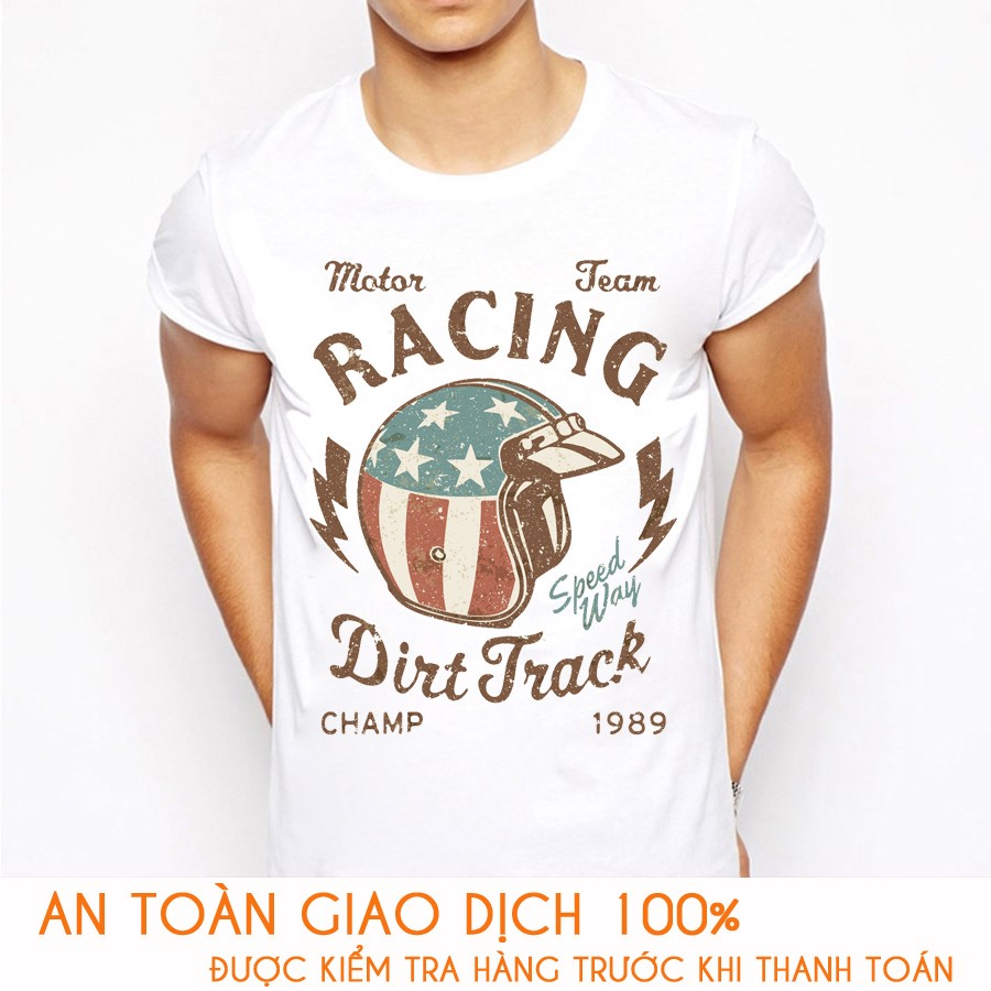Áo thun nam RACING TEAM DIRT TRACK - M788