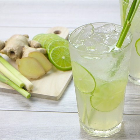Soda/Mojito Chanh Xả - Lime and Lemon Grass Flavour