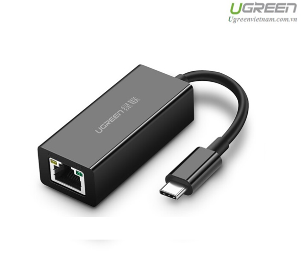 CABLE UGREEN USB-C TO LAN 10/100/1000 50307