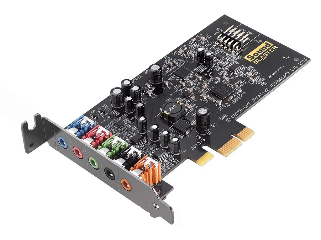CARD ÂM THANH SOUND BLASTER AUDIGY FX PCIe 5.1