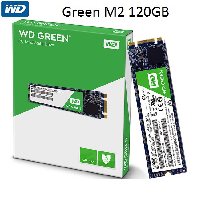 HDD SSD 120GB WD M2 2280 GREEN