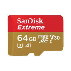 Thẻ nhớ MICRO SD 64GB SANDISK EXTREME  100MB/S