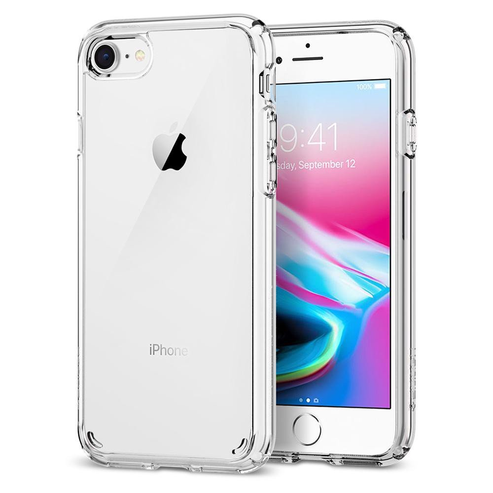 Ốp lưng iPhone 8 Spigen Ultra Hybrid 2