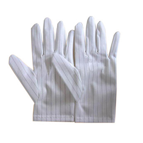 Găng tay chống tĩnh điện vải polyester - 10 đôi