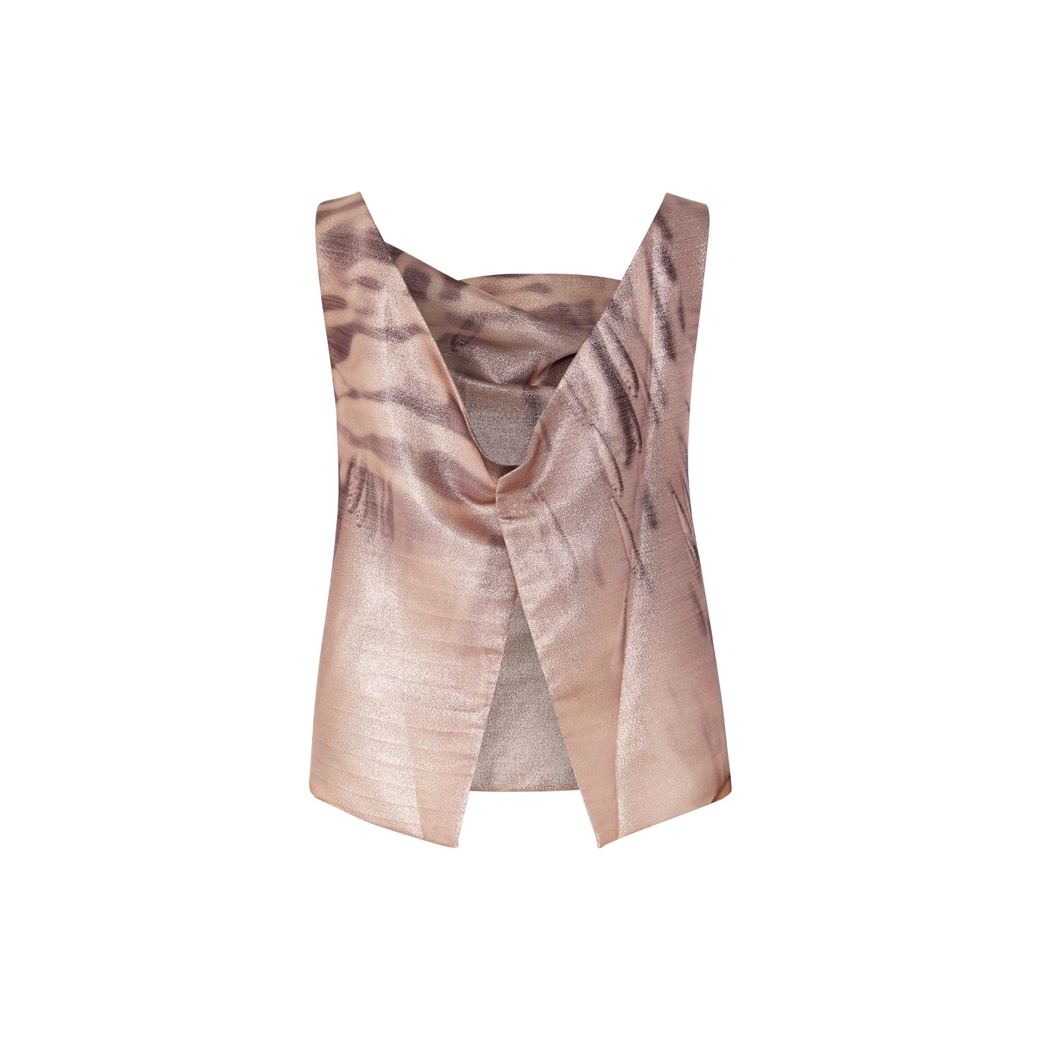 Rosegold Sealife Cocktail Blouse