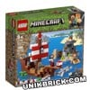[HÀNG ĐẶT/ ORDER] LEGO Minecraft 21152 The Pirate Ship Adventure