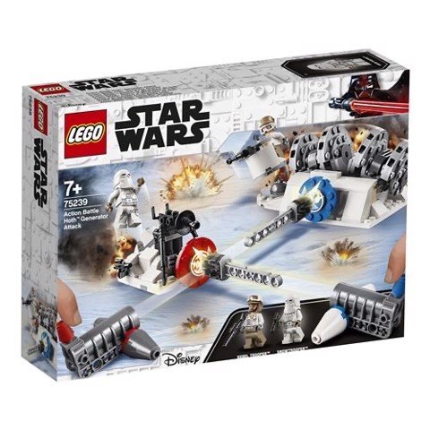 [CÓ HÀNG] LEGO Star Wars 75239 Action Battle Hoth Generator Attack