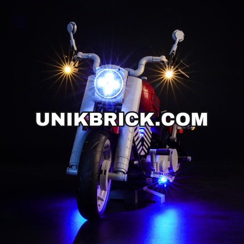[HÀNG ĐẶT/ ORDER] Briksmax Light Kit For Lego Harley Davidson Fat Boy 10269