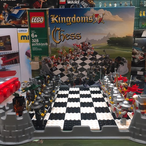 [CÓ SẴN] LEGO 853373 Kingdoms Chess Set
