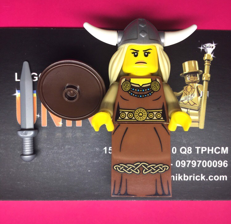 LEGO Viking Woman Series 7
