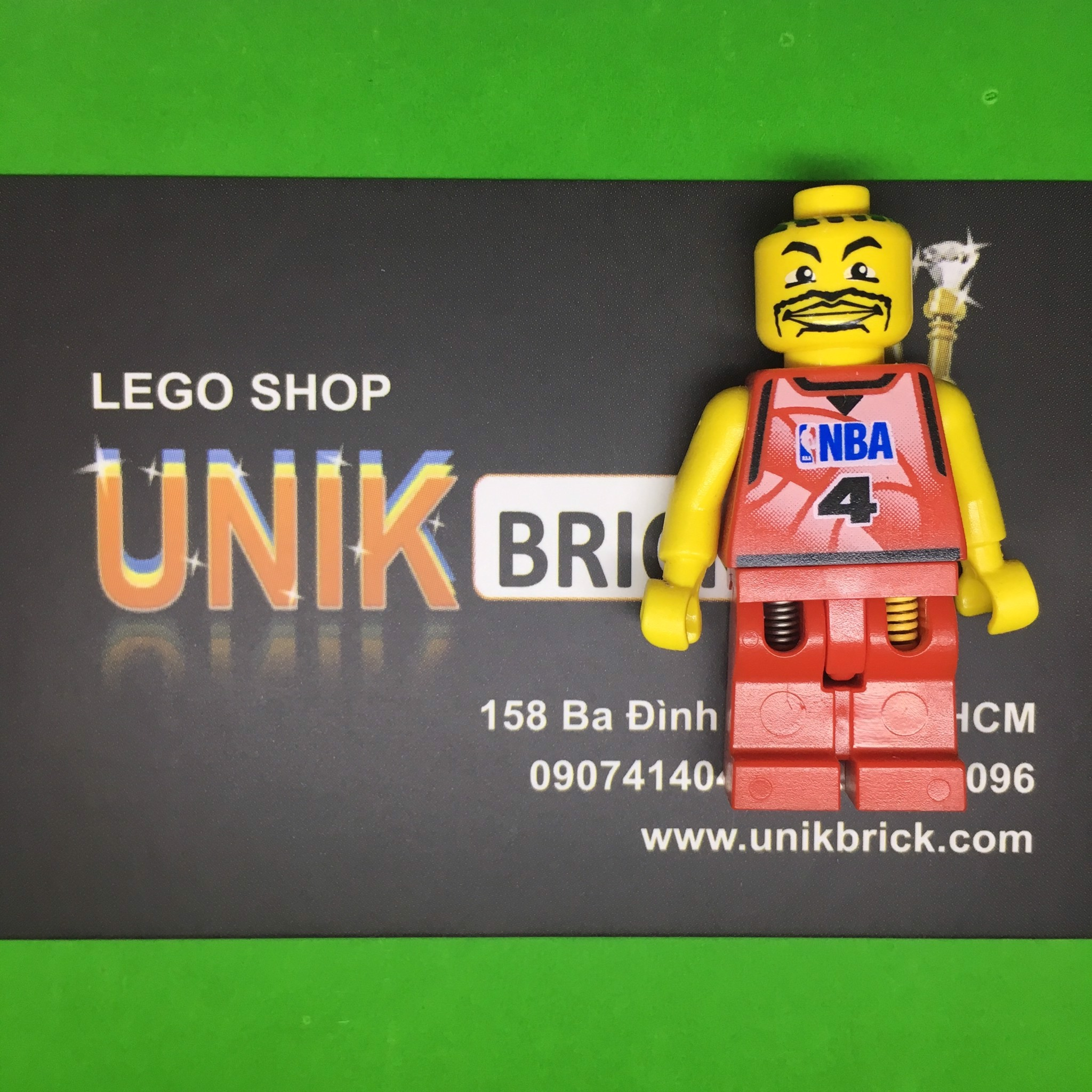LEGO NBA Basketball Player No 6
