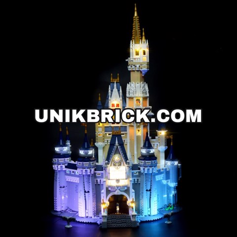 [HÀNG ĐẶT/ ORDER] Briksmax Light Kit For Disney Castle 71040