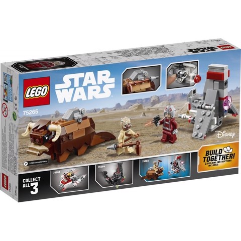 [CÓ HÀNG] LEGO Star Wars 75265 T-16 Skyhopper vs Bantha Microfighters