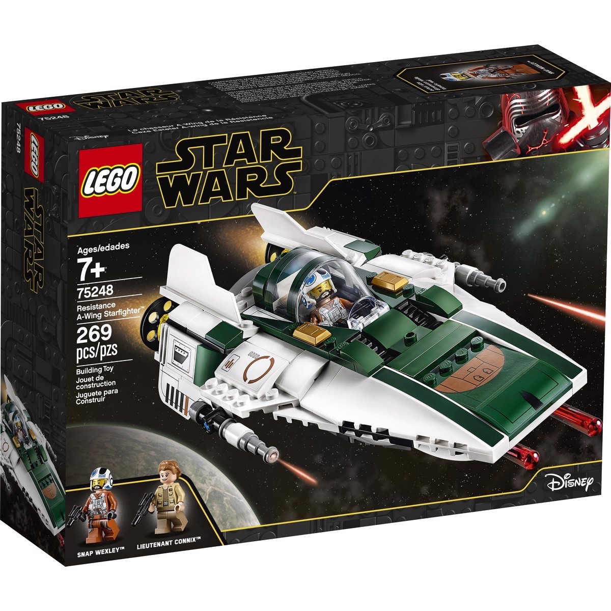 LEGO Star Wars 75248 Resistance A Wing Starfighter