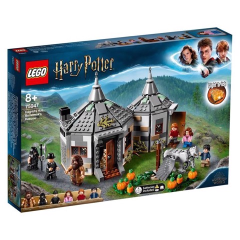 [CÓ SẴN] LEGO Harry Potter 75947 Hagrid's Hut Buckbeak's Rescue