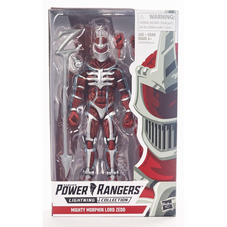 [CÓ HÀNG] Hasbro Power Rangers Lightning Collection 6 Inch Mighty Morphin Lord Zedd Collectible Action Figure