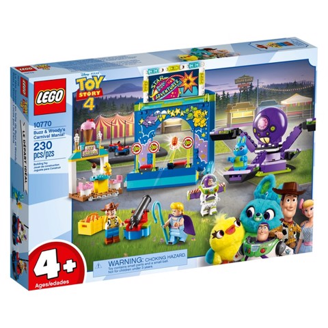 LEGO 10770 Toy Story 4 Buzz and Woody's Carnival Mania