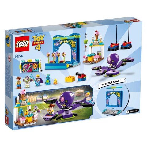 [CÓ SẴN] LEGO 10770 Toy Story 4 Buzz and Woody's Carnival Mania