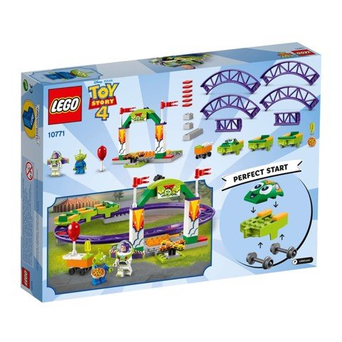 [CÓ SẴN] LEGO TOY STORY 4 10771 Carnival Thrill Coaster