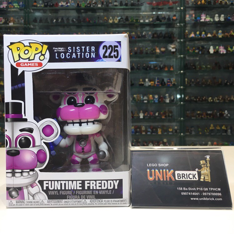 FUNKO POP Five Nights at Freddy's 225 Funtime Freddy