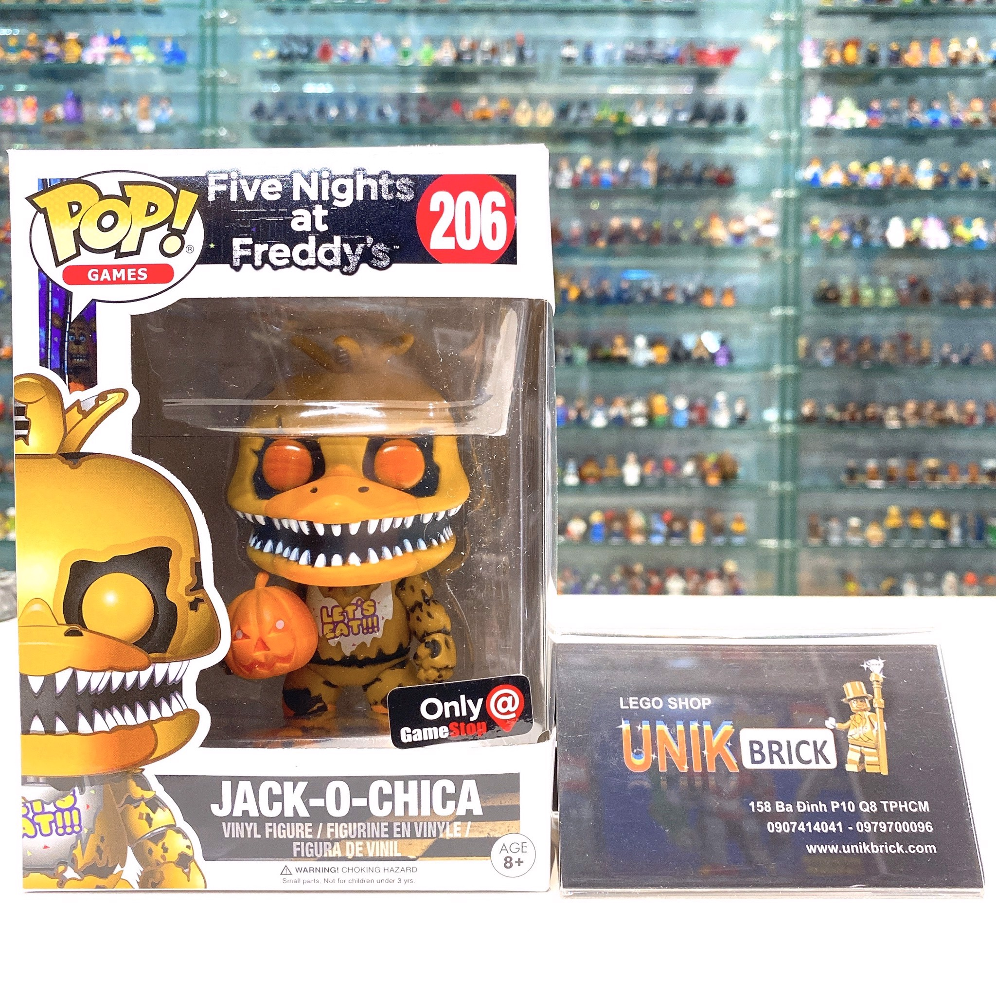 FUNKO POP Five Nights at Freddy's 206 Jack O Chica