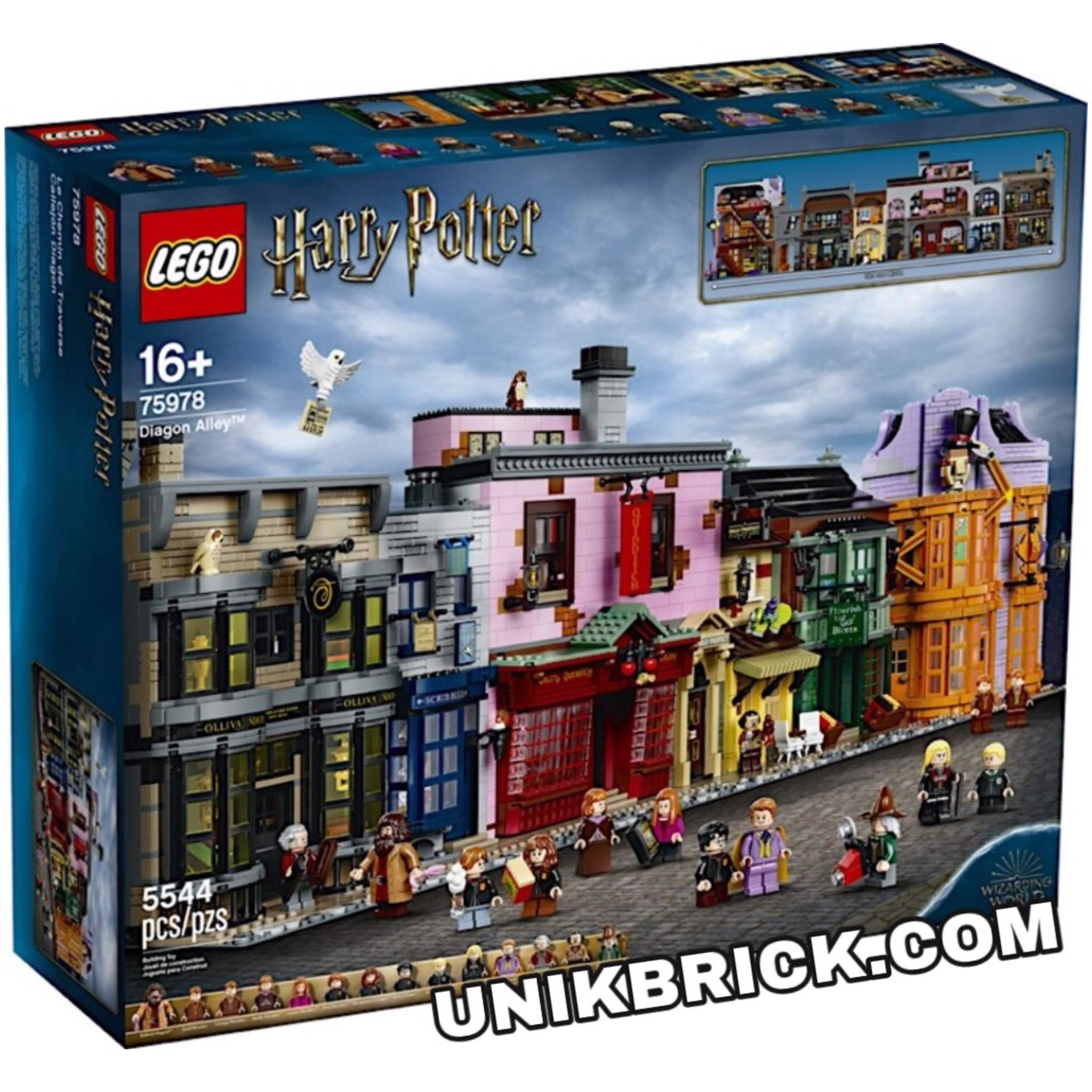 [HÀNG ĐẶT/ORDER] LEGO Harry Potter 75978 Diagon Alley