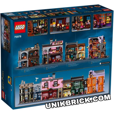 [CÓ HÀNG] LEGO Harry Potter 75978 Diagon Alley