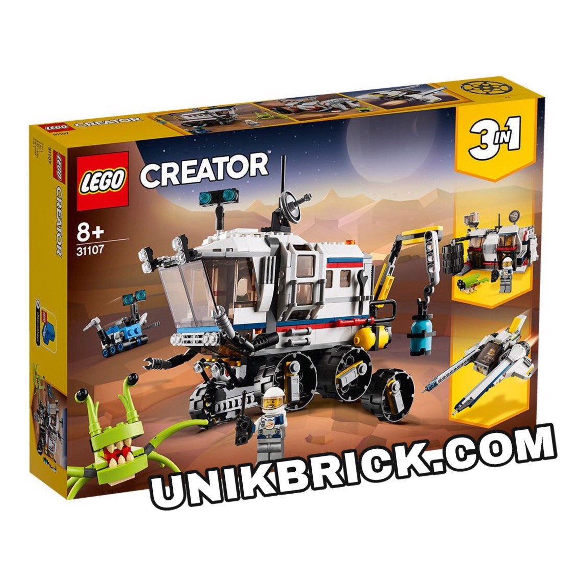 [HÀNG ĐẶT/ ORDER] LEGO Creator 31107 Space Rover Explorer 3 IN 1