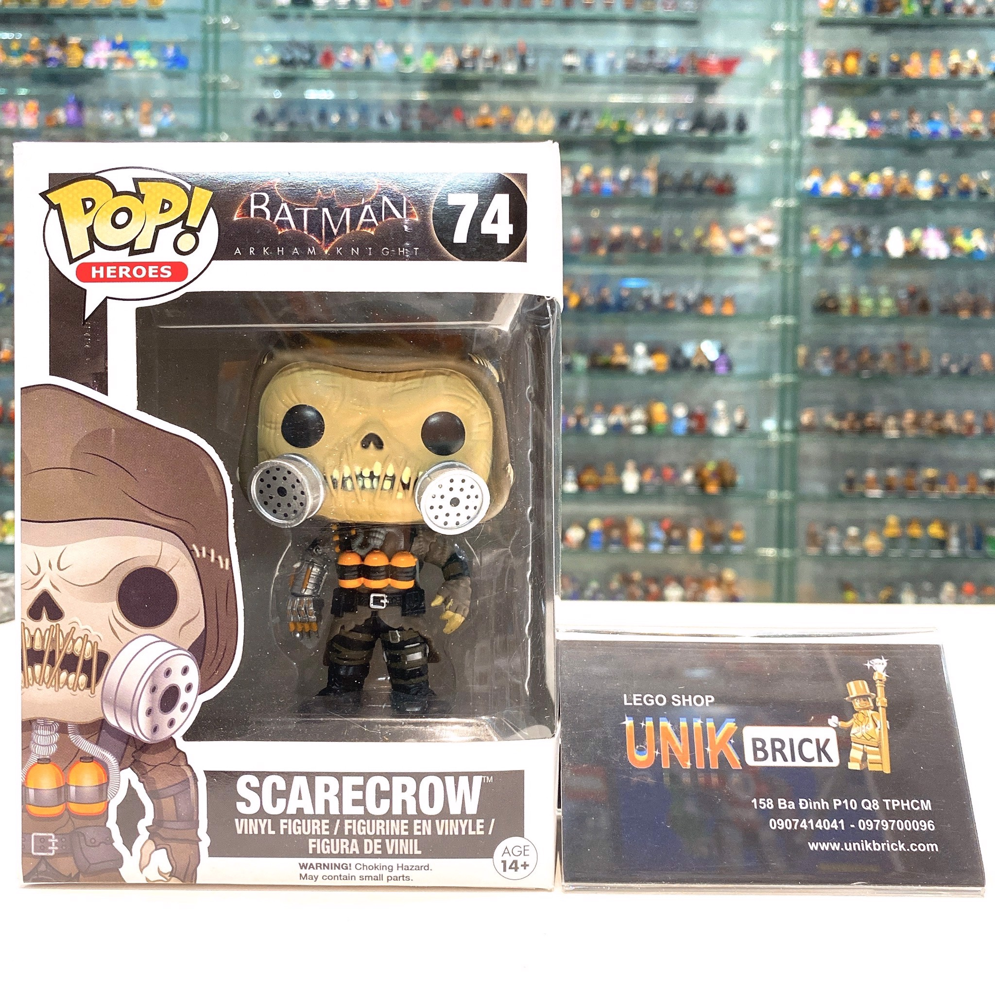 FUNKO POP Batman 74 Scarecrow