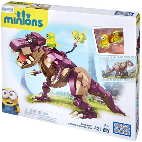 Mega Bloks Despicable Me Minions Dino Ride