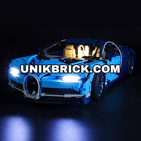 [HÀNG ĐẶT/ ORDER] Briksmax Light Kit For Lego Bugatti Chiron 42083
