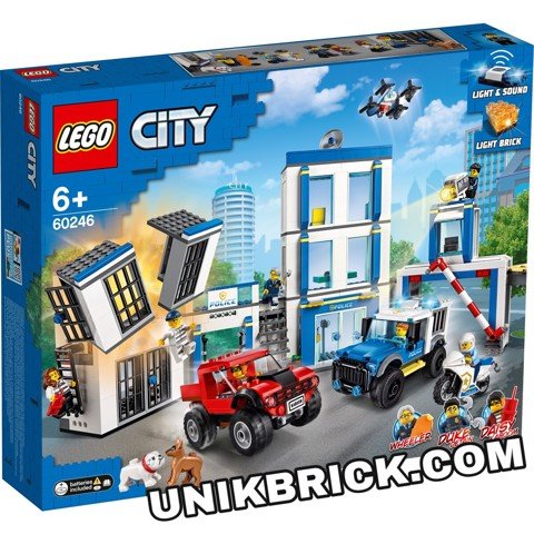 [HÀNG ĐẶT/ ORDER] LEGO City 60246 Police Station