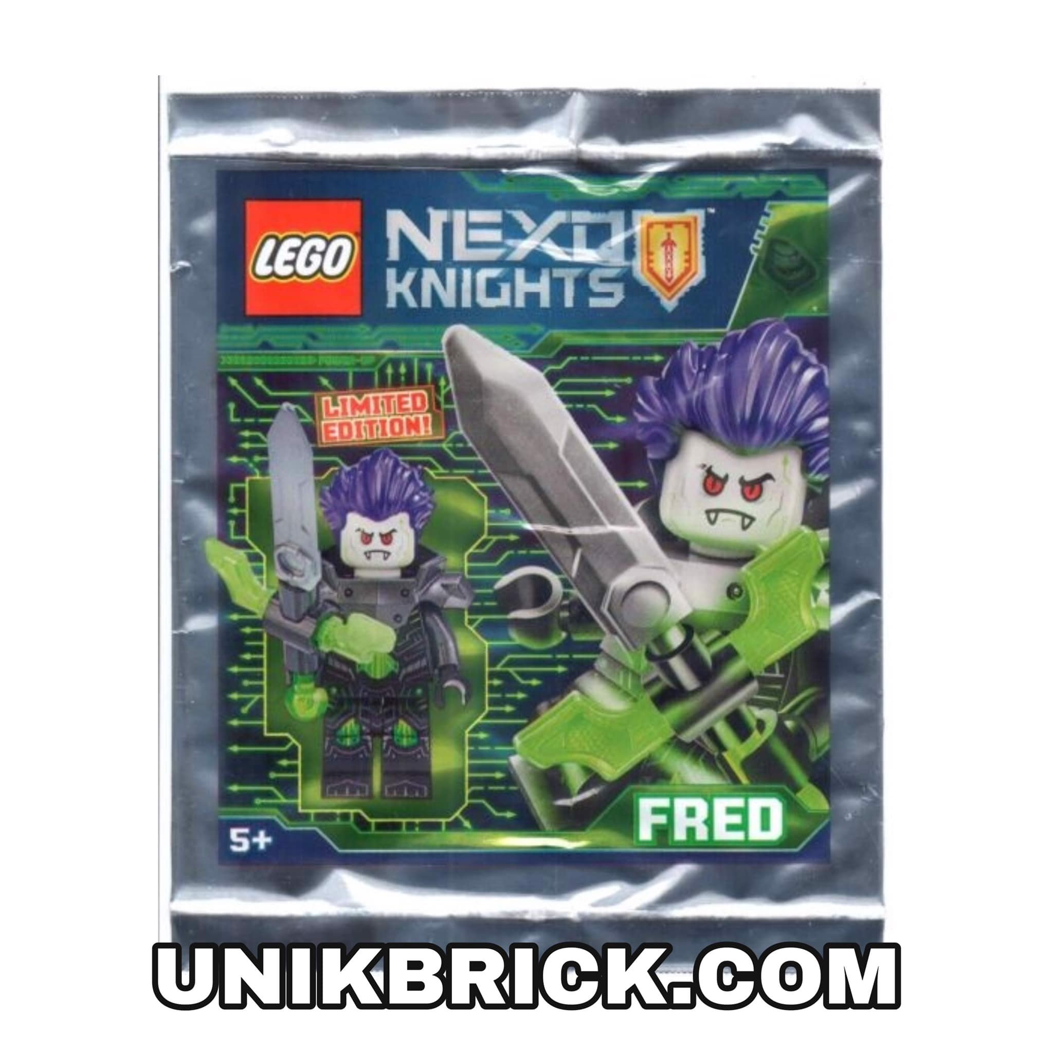 LEGO 271826 Fred Foil Pack Polybag