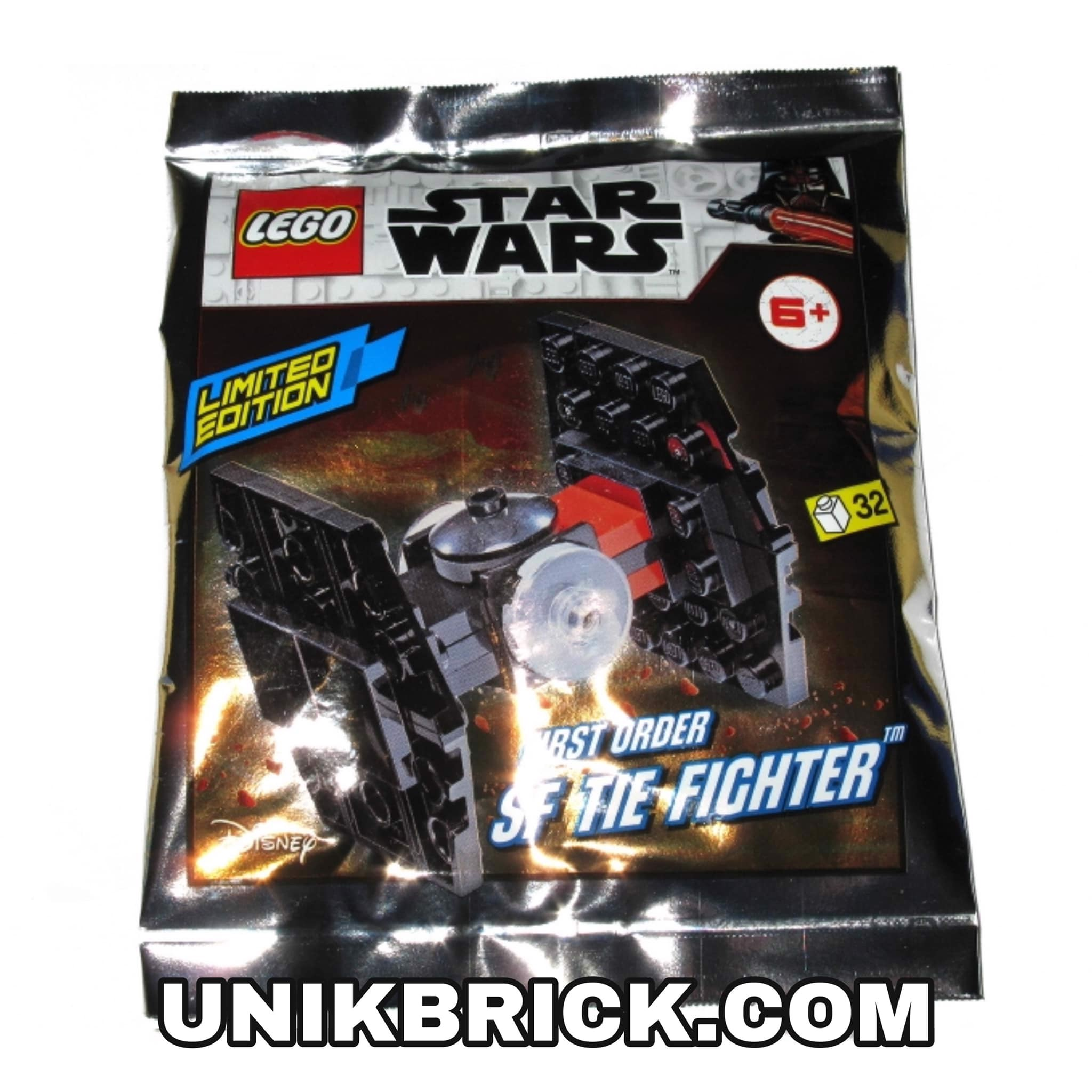 [CÓ HÀNG] LEGO Star Wars 911953 First Order SF TIE Fighter Foil Pack Polybag