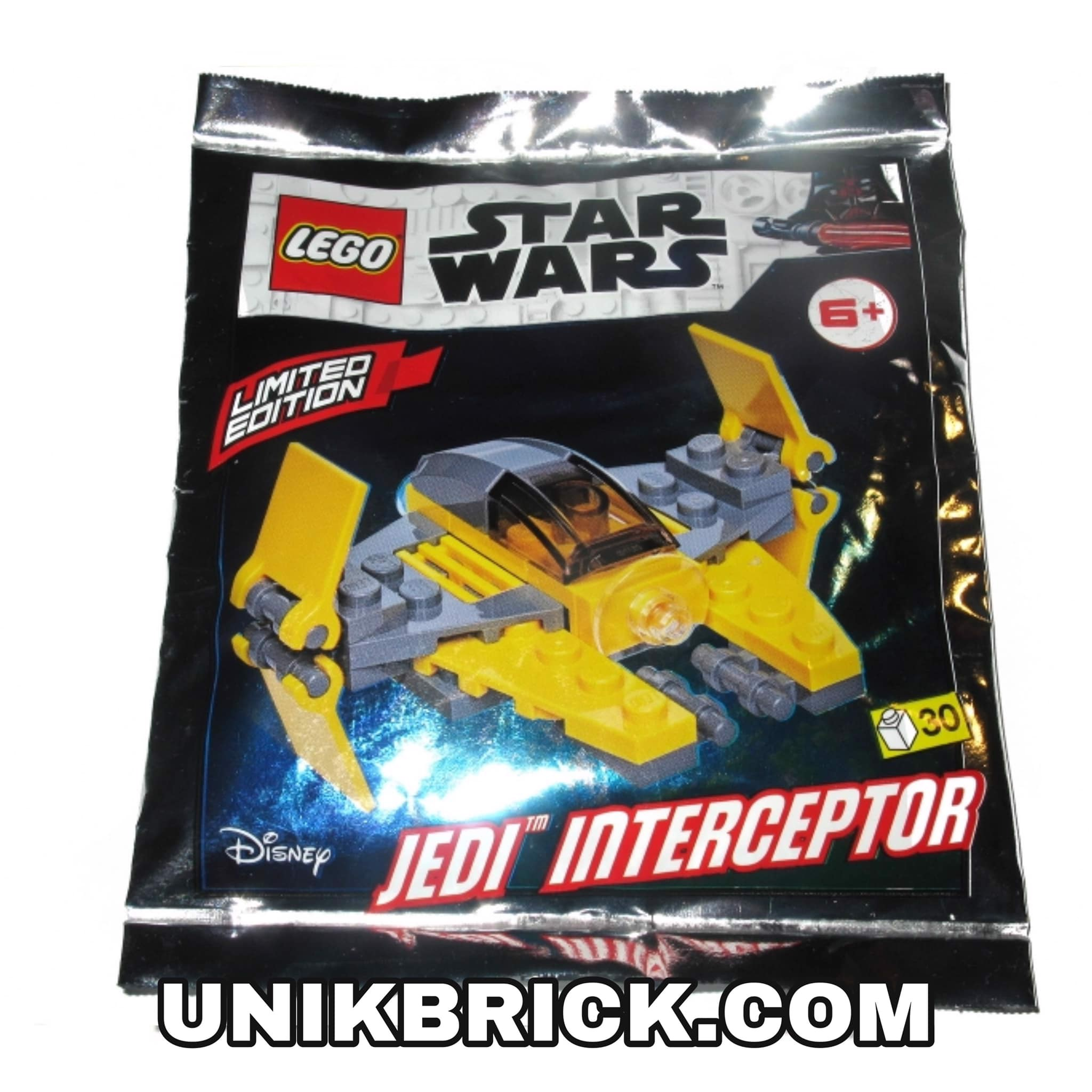LEGO Star Wars 911952 Jedi Interceptor Foil Pack Polybag